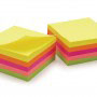 Repositionable Note Pads Neon