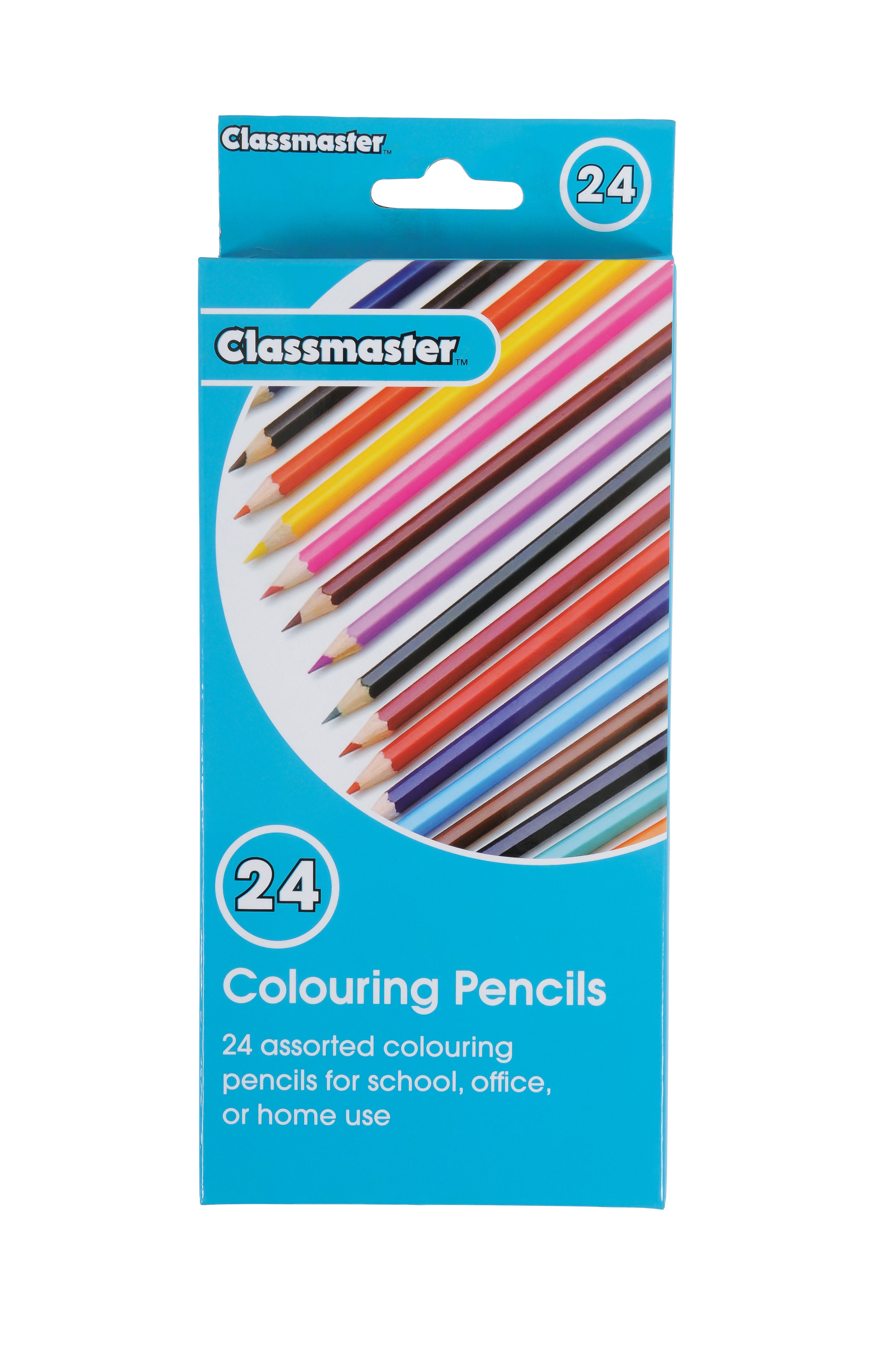 Colouring Pencils - Pack of 24 - Eastpoint