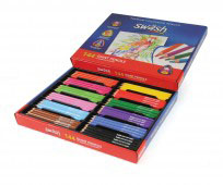 KOMFIGRIP Giant Colouring Pencils