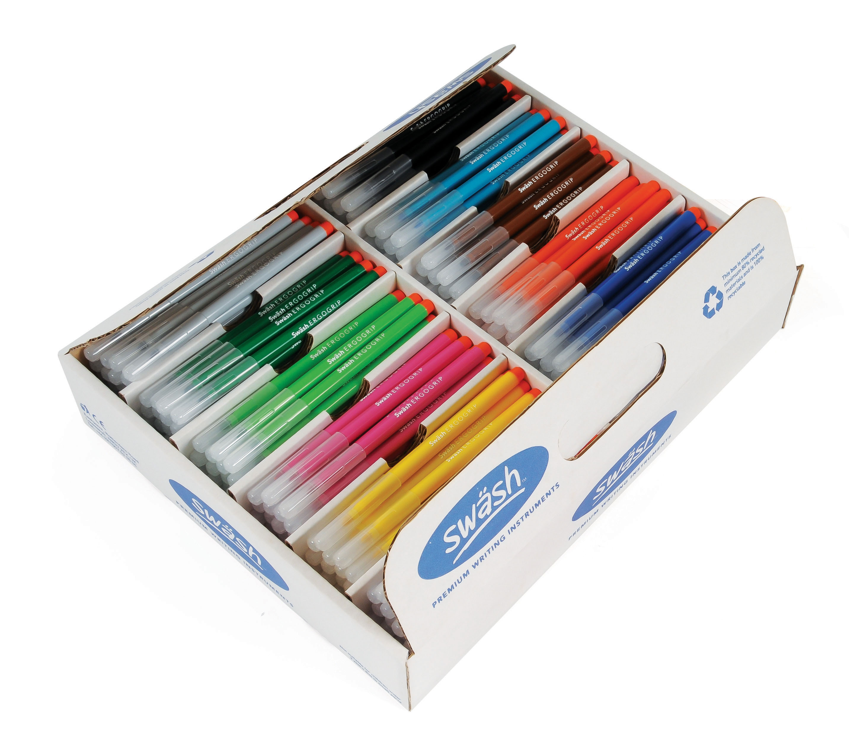 KOMFIGRIP Broad Tip Colouring Pens