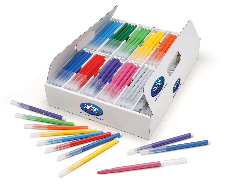 KOMFIGRIP Fine Tip Colouring Pens
