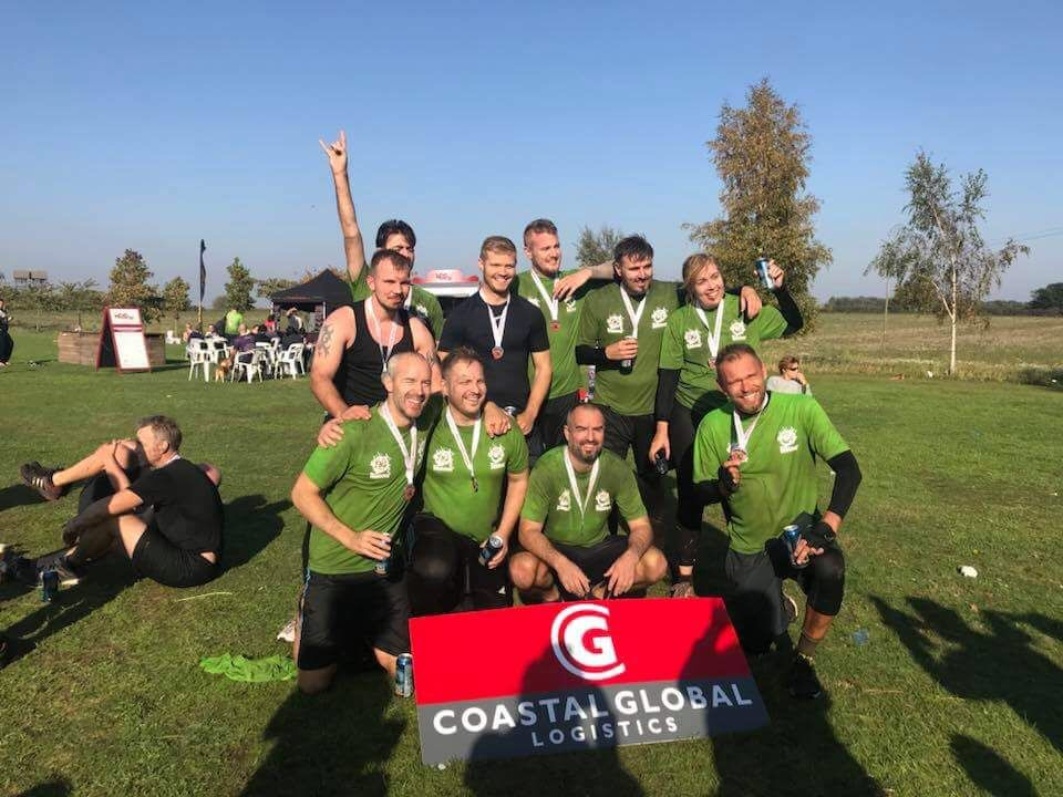 CGL after taking part in the Suffolk Whole Hog Dragon Run