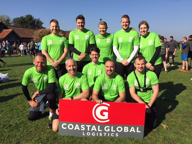 CGL before taking part in the Suffolk Whole Hog Dragon Run