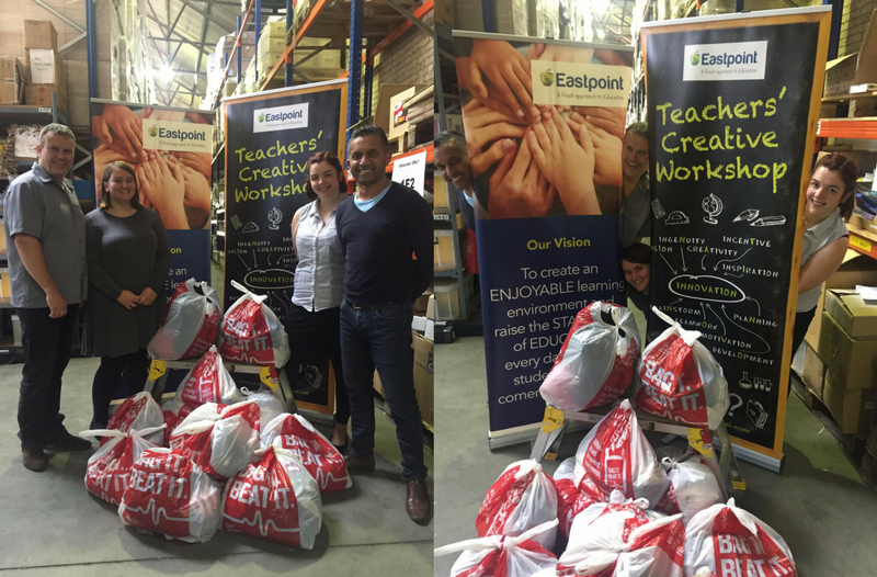 British Heart Foundation Donation Bags from Eastpoint