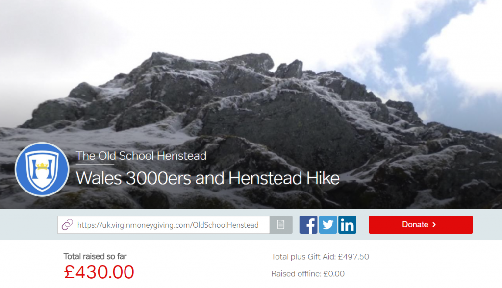 The Wales 3000ers Fundraising Page